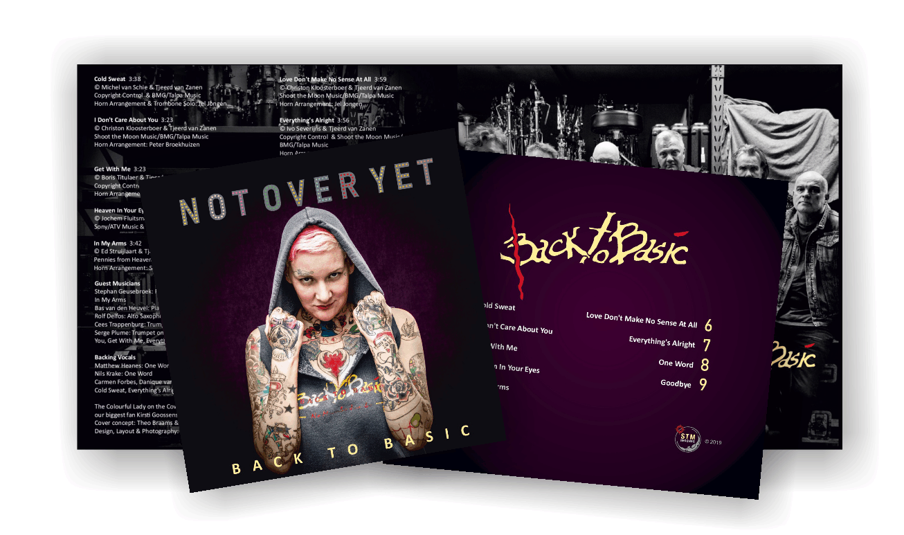 Exclusive CD - Not Over Yet